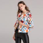 Vintage-Jacket-Jacquard-Fall-Winter-2018-New-Fashion-Women-Beading-Buttons-Countryside-Garden-Flower-Print-Short