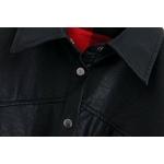 Veste-simili-cuir-ceinture-simple-boutonnage-Slim-veste-longue-femme-Streetwear-noir-bouton-manteau-coupe-vent