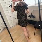 Femmes-Robe-courte-Style-volants-dentelle-impression-nouveau-2019-t-manches-courtes-Robe-Femme