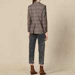 2019-nouveau-femmes-Plaid-costume-Blazer-bouton-unique-bureau-dame-veste-et-manteau-ou-automne-hiver
