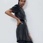 Fandy-Lokar-Faux-Leather-Dresses-Women-Fashion-Short-Sleeve-Leather-Dress-Women-Elegant-O-Neck-Mini
