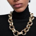 JUST-FEEL-ZA-collier-dor-ras-du-cou-colliers-pour-femmes-Vintage-cercle-cha-ne-d