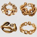 Juste-sentir-plus-r-cent-ZA-Vintage-lien-cha-ne-bracelets-pour-Femme-mode-or-couleur