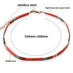 NeeFu-WoFu-collier-de-perles-naturelles-nationalit-pierre-naturelle-rouge-collier-court-boh-me-acier-inoxydable
