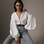 Offre-sp-ciale-2019-automne-nouvelles-femmes-blouses-lanterne-manches-revers-Streetwear-mode-d-contract-sauvage