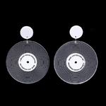 Vintage-Black-Vinyl-Record-Acrylic-Earrings-For-Women-Personality-Transparent-Circle-Record-Drop-Dangling-Earrings