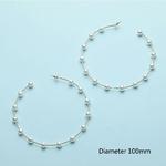 Women-Elegant-White-Black-Simulated-Pearls-Statement-Earrings-Big-Small-Circle-Round-Metal-Gold-Hoop-Earrings