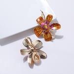Doux-femmes-fleur-coquille-pendentif-boucles-d-oreilles-f-te-bijoux-saint-valentin-cadeau-Imitation-perle