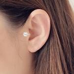 Top-qualit-6-MM-AAA-Cezch-Zircon-argent-rempli-Tragus-boucle-d-oreille-pour-les-femmes