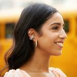Nouvelle-mode-perle-oreille-manchette-petites-boucles-d-oreilles-pour-les-femmes-la-mode-Punk-or