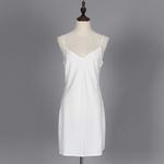 TWOTWINSTYLE-Dot-Dress-Female-Chiffon-V-Neck-Tunic-High-Waist-Ruffles-Patchwork-Hollow-Out-Mini-Dresses