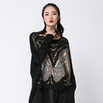 EAM-Beading-Split-Big-Size-Knitting-Sweater-Loose-Fit-Round-Neck-Long-Sleeve-Women-Pullovers