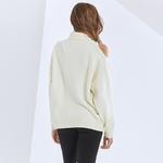 TWOTWINSTYLE-pull-ample-en-tricot-col-roul-pour-femme-chandail-manches-longues-asym-trique-paule-d