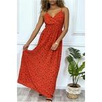longue-robe-rouge-motif-noir-croise-au-buste-cintre-avec-elastique-a-la-taille-et-au-dos (4)