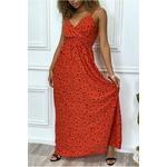 longue-robe-rouge-motif-noir-croise-au-buste-cintre-avec-elastique-a-la-taille-et-au-dos (5)