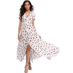 2018-longue-t-Floral-Maxi-robe-femmes-fleur-imprimer-d-contract-Split-plage-robe-dames-l