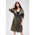 JAZZEVAR-2018-automne-nouveau-trench-coat-d-contract-pour-femmes-oversize-Double-boutonnage-Vintage-lav-Outwear