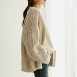 Neploe-cor-en-chandails-Cardigans-pour-femmes-2019-automne-hiver-Vintage-tricots-mode-solide-casual-manches