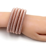 JURAN-4-Couleurs-Vintage-Brillant-Wrap-Corde-Choker-Colliers-Mode-Maxi-Col-Collier-Femmes-D-claration