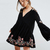 Floral-Embroidery-A-line-mini-dresses-2018-spring-rayon-v-neck-flare-long-sleeve-boho-chic