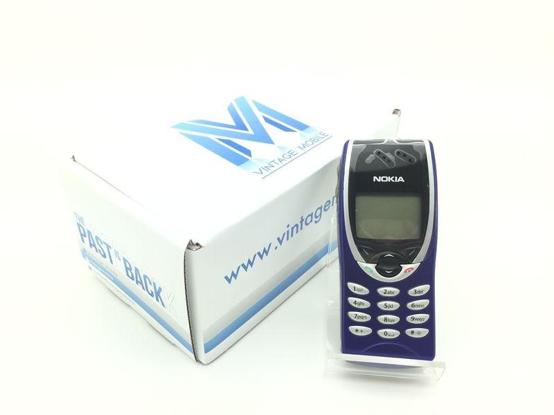 Nokia 8210 bleu - Téléphone ancien - Vintage Mobile