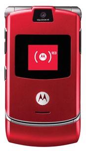 Motorola V3i Rouge