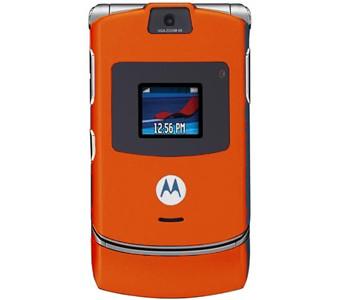 Motorola V3 Orange