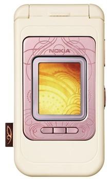 Nokia 7390 Rose