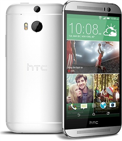HTC ONE M8 SILVER