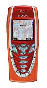 Nokia 7210 Rouge