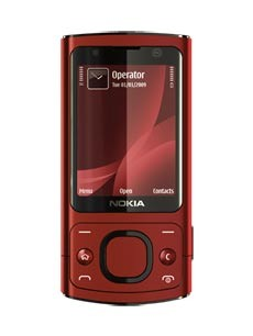 Nokia 6700 Slide Rouge
