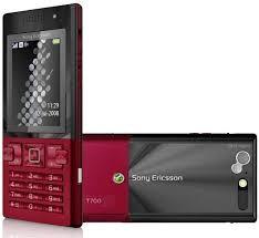 Sony Ericsson T700 Rouge
