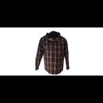chemise marron dos
