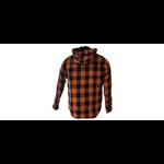 chemise orange dos