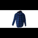chemise bleu dos