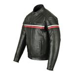 Milano Leather jacket back side