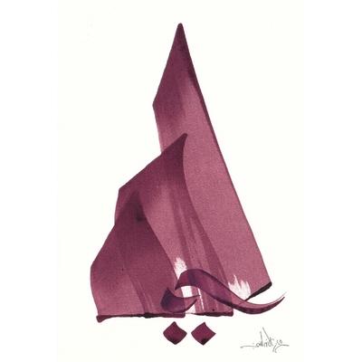 "Carte postale "" La Montagne """