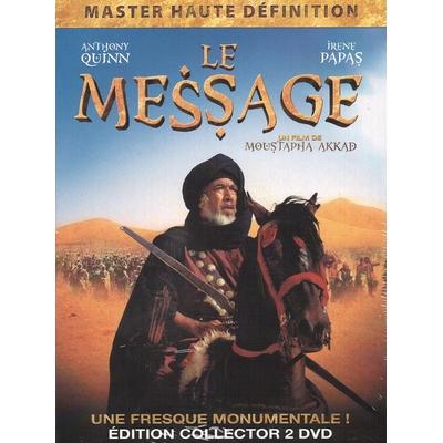 """DVD Film """"Le Message"""" 2 DVD Version arabe & Version française"""