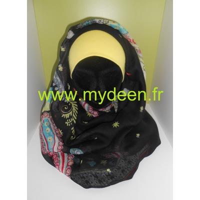 "Grand Hijab ""Triomphale"" Noir"