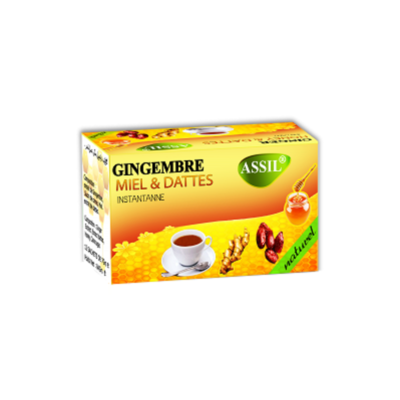 Infusion Gingembre, Miel & Dattes