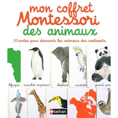 Mon coffret Montessori des animaux