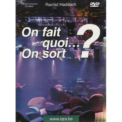 "DVD Conférence ""On fait quoi ... On sort ?"""