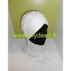 Bonnet croisé / Cache-cou 2 en 1 Blanc