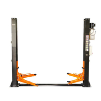Zwei-Säulen-Hebebühne 4t, automatische Sicherheitsentriegelung, 230V