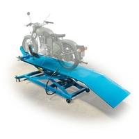 Motorrad Hebebühne, pneumatisch-hydraulisch, 450kg