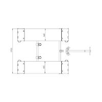 dimensions pont ciseaux mobile 3 tonnes