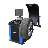 Automatische Reifenwuchtmaschine mit LCD Anzeige