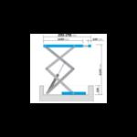 dimensions pont ciseaux