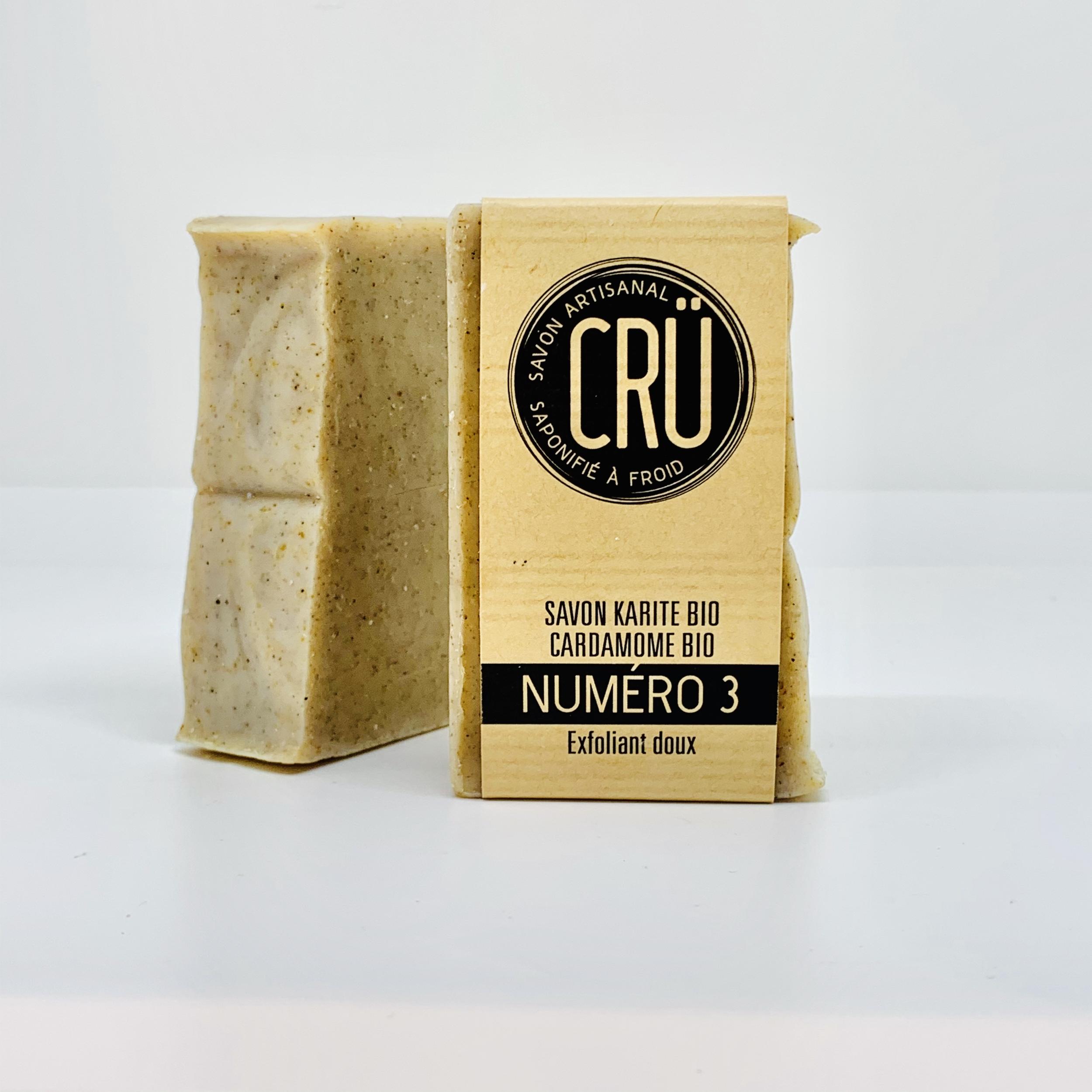 savon artisanal bio CRU n°3