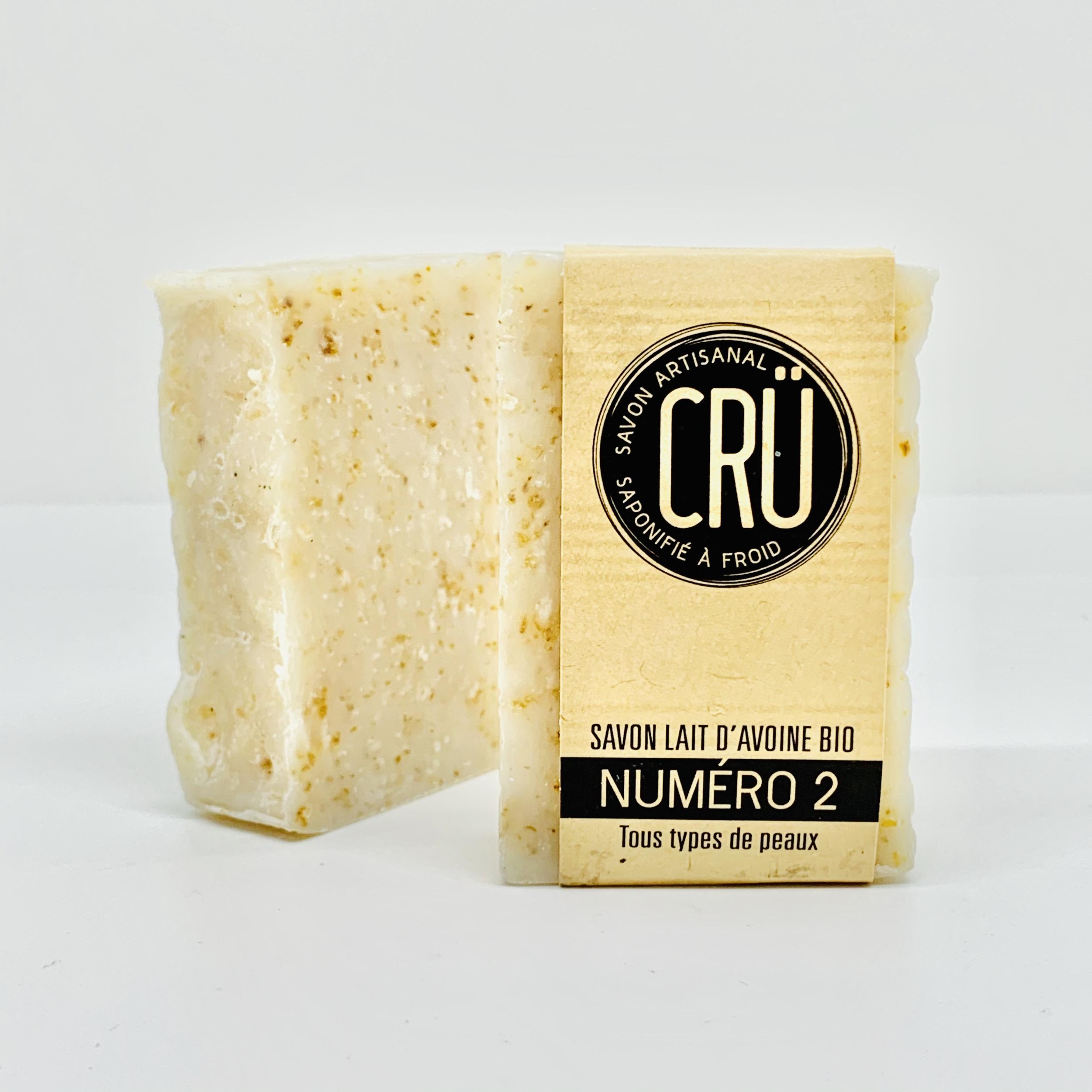 savon artisanal bio CRU n°2